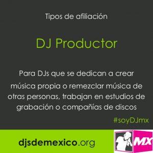 postal afiliacion DJ productor