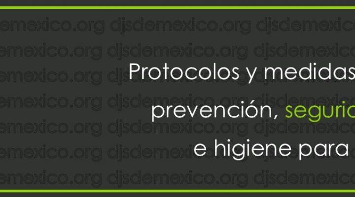 Protocolos y medidas de prevención, seguridad e higiene para DJs